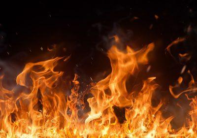 Пожар квартиры по ул. Шестакова в Воротынске