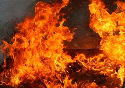 Ночью в Воротынске сгорела квартира
