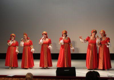 В Воротынске прошел концерт «Краски Осени»