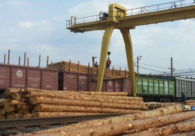 Погрузка на железной дороге в Калужской области выросла на 9,7%