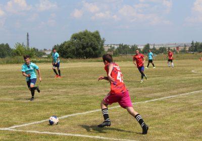 В Воротынске состоялось открытие футбольного поля